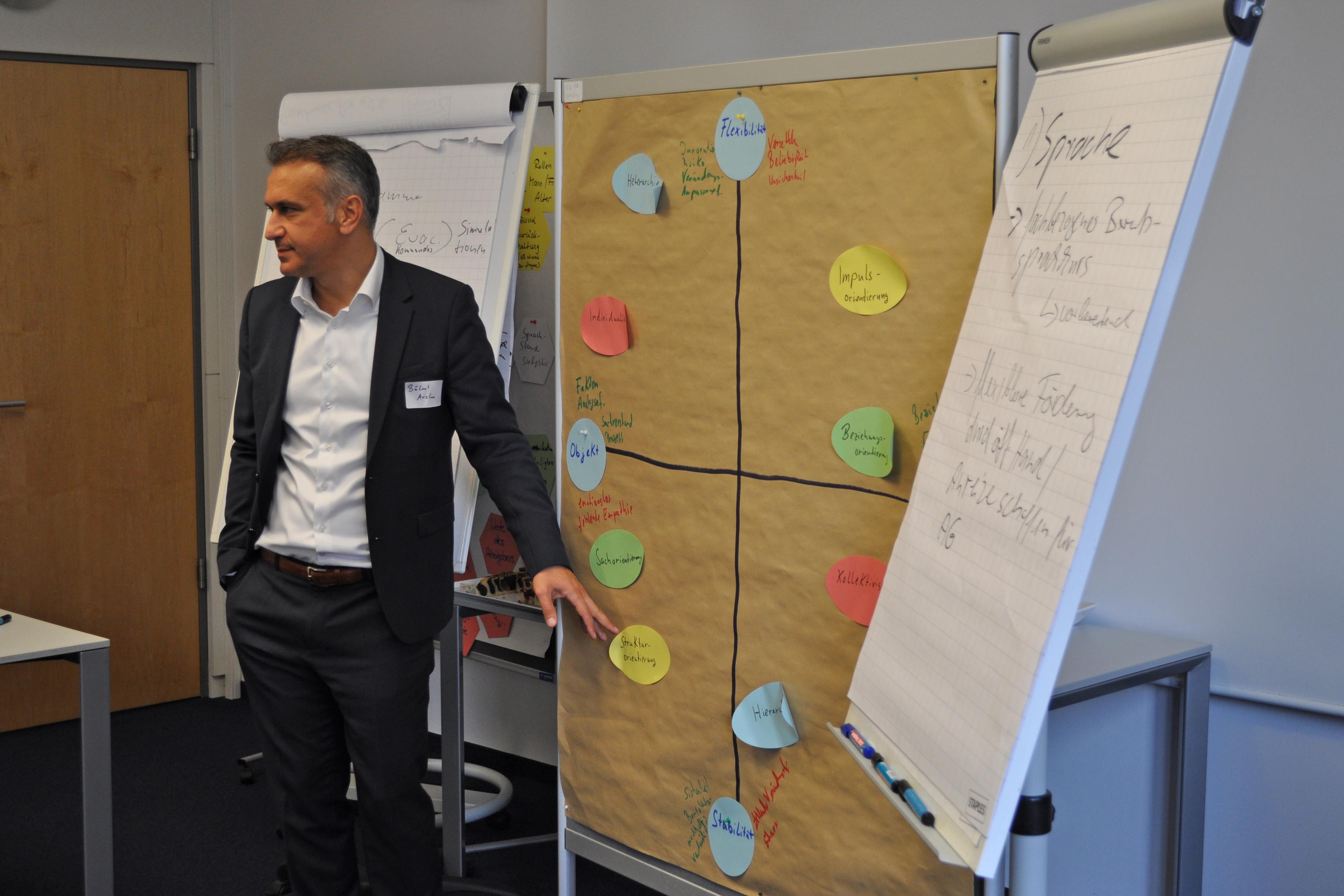 Ideenworkshop in Eschborn: Arslan stellt Kulturmodell vor
