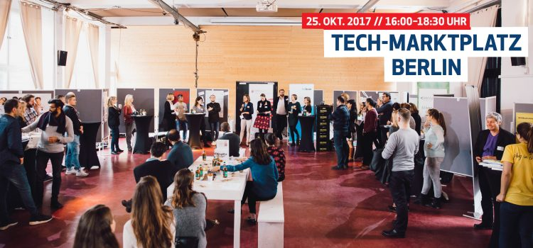 Eröffnung Tech-Marktplatz