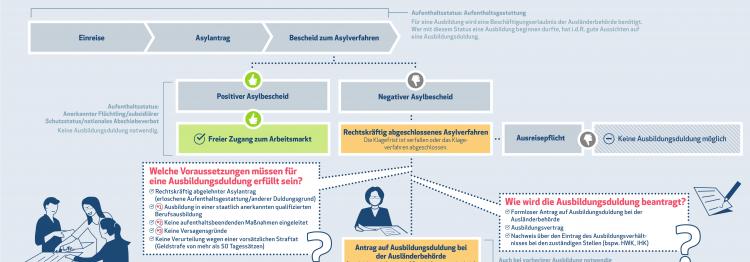 Infografik Ausbildungsduldung