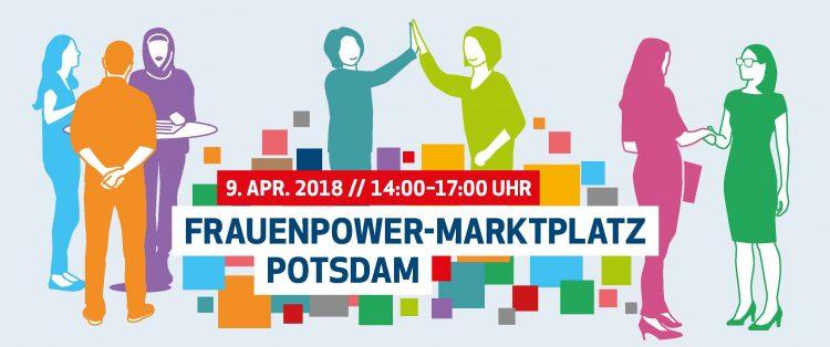 Frauenpower-Marktplatz