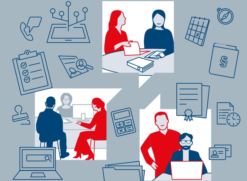 Handbuch für Ehrenamtliche: Wie kann ich Geflüchtete bei der Arbeitssuche unterstützen?