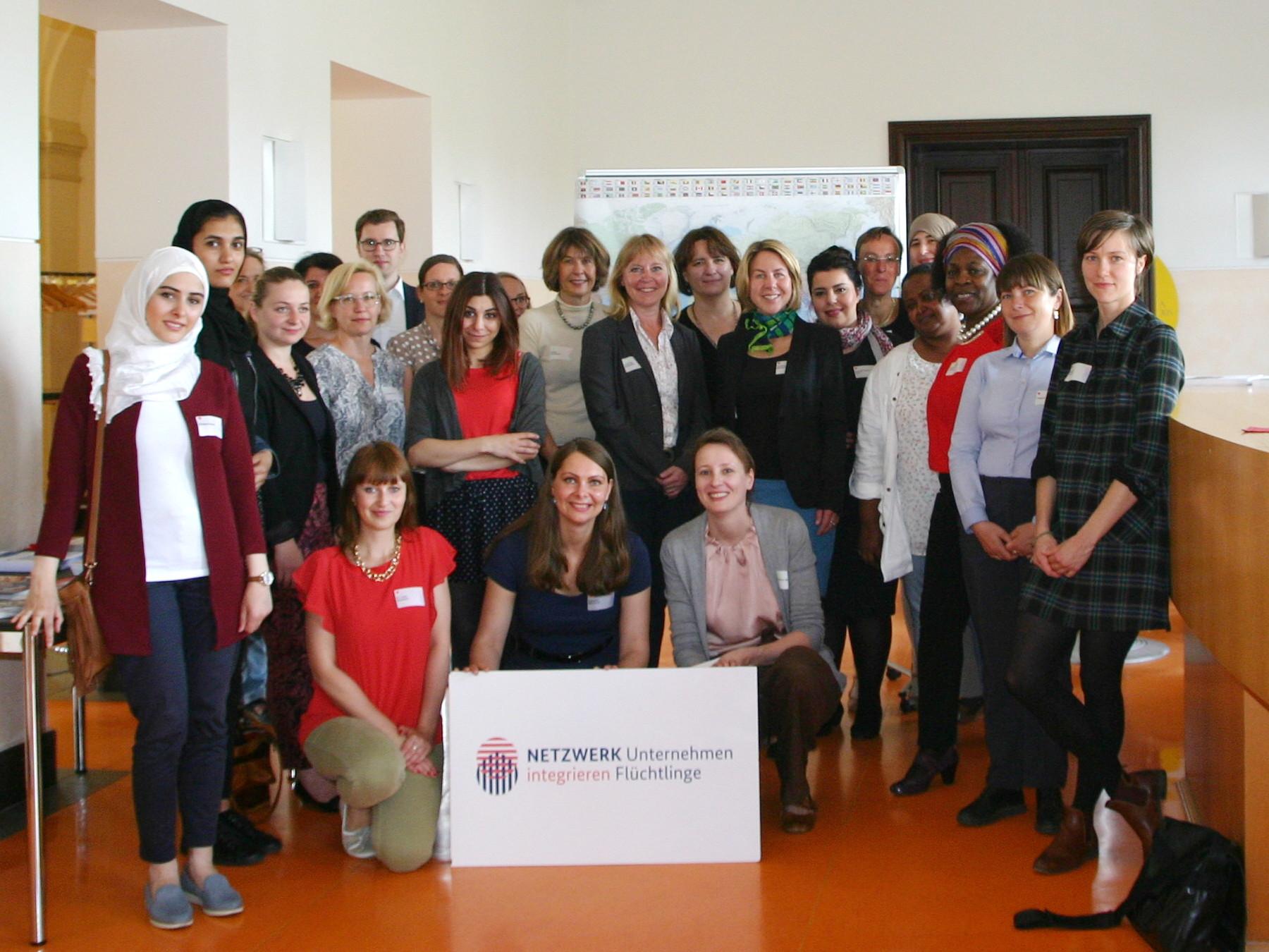 NETZWERK veranstaltet 1. Expertenrunde Geflüchtete Frauen