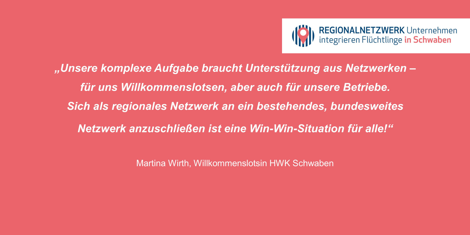Regionalnetzwerk Unternehmen Integrieren Flüchtlinge