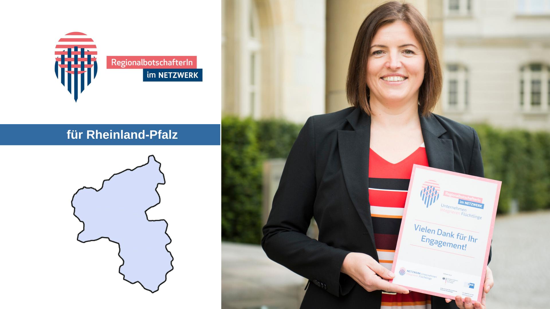 4 Fragen an unsere Regionalbotschafterin aus Rheinland-Pfalz